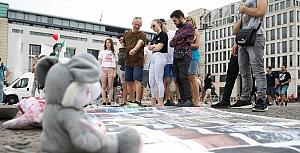 Berlin'de İdlib'e destek gösterisi