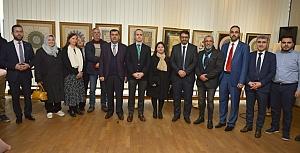 DİTİB'de Klasik Türk-İslam Sanatları sergisi açıldı