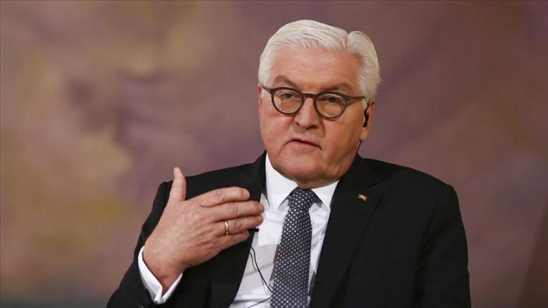 Almanya Cumhurbaşkanı Steinmeier'den Kovid-19 salgınında evden çalışma çağrısı