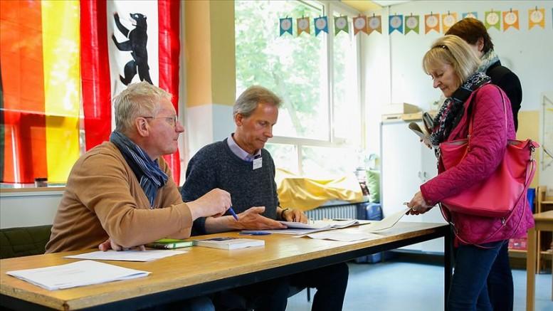 Almanya'da AP seçimlerinden CDU 1. parti çıktı