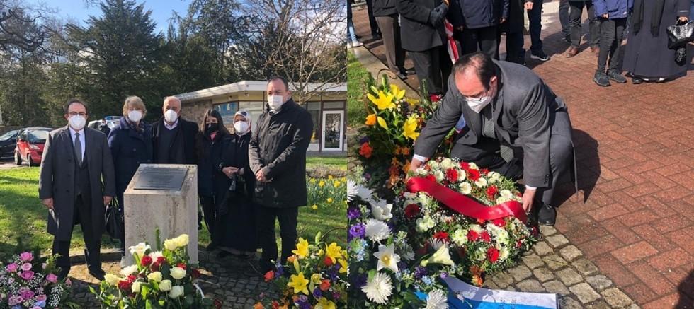Almanya'da ırkçı terör kurbanı Halil Yozgat ölümünün 15'inci yılında anıldı