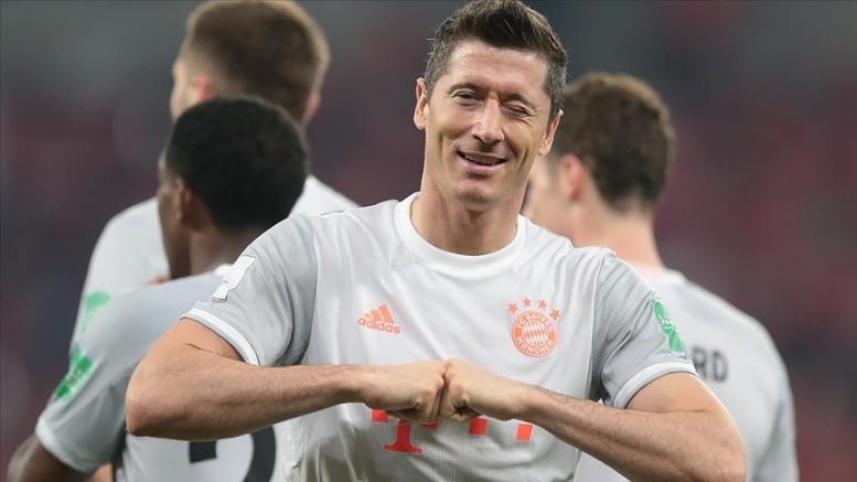 Almanya'da yılın futbolcusu Lewandowski