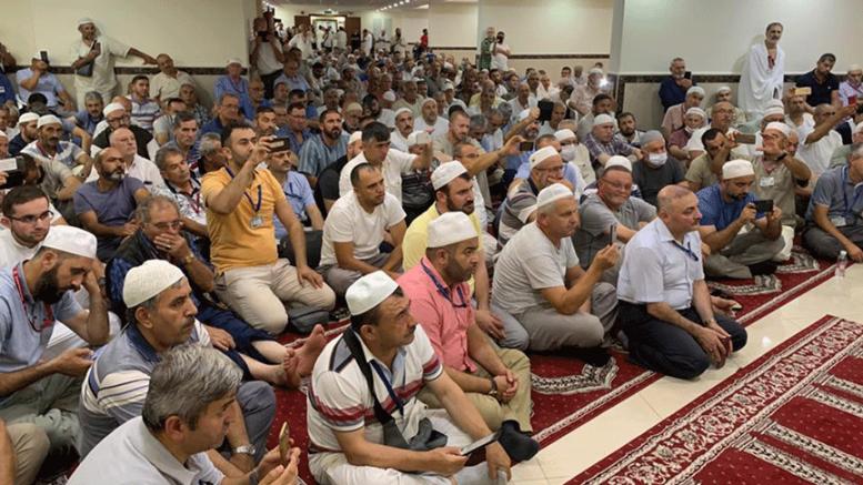 Almanya hacı adaylarına Kur'an ziyafeti