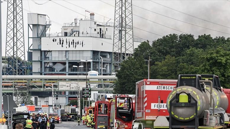 Almanya'da kimya tesisinin katı atık yakma alanındaki patlamada ölü sayısı 5'e yükseldi