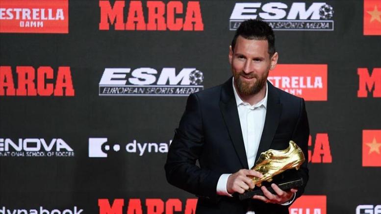 Altın Ayakkabı 6. kez Messi'nin
