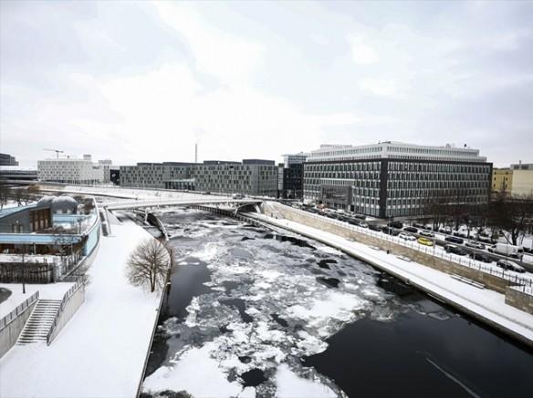 Berlin beyaza büründü