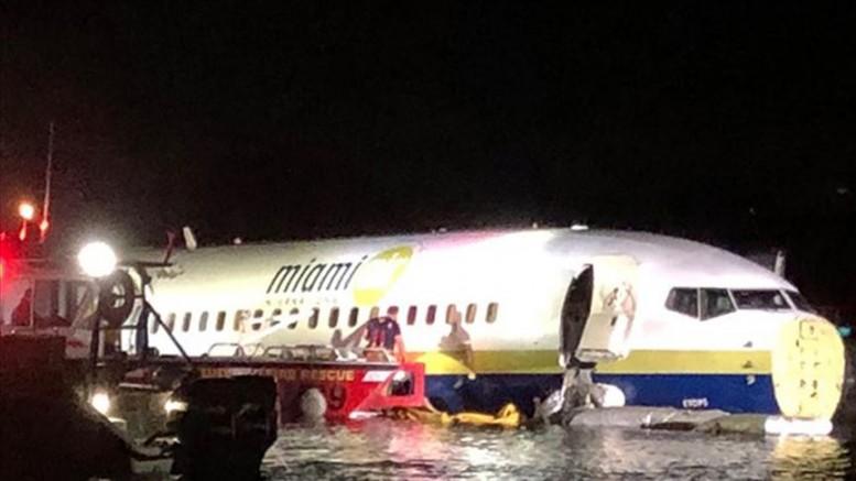 Boeing 737 pistten çıktı!