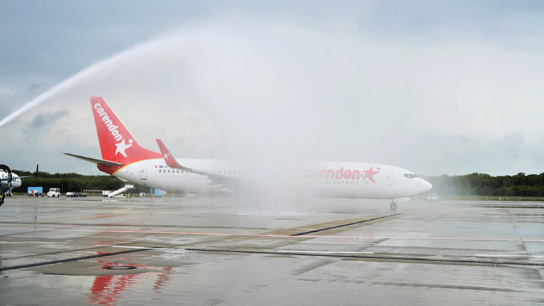 Corendon Airlines'den sezonun ilk uçuşu
