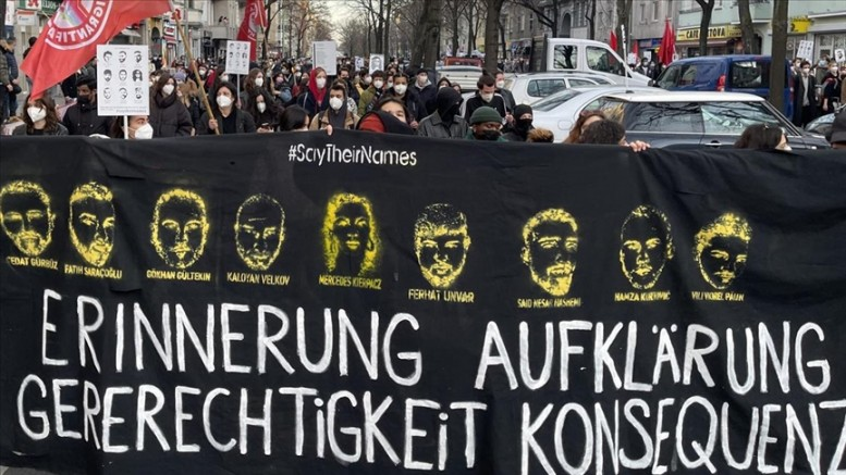 Hanau anıtına ırkçılardan çirkin saldırı!