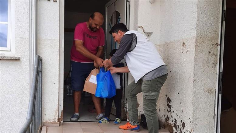 Hasene Derneği'nden sel mağdurlarına yardım eli