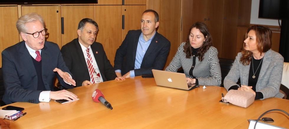 KGK heyeti Berlin'de Türk toplumu temsilcileriyle buluştu
