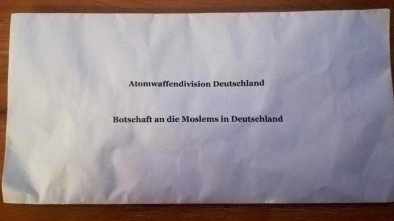 Köln'de Türkleri tedirgin eden mektup!