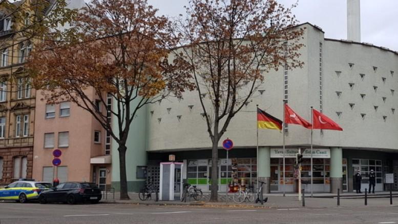 Mannheim DİTİB Camii yönetimi, hassasiyet gösteren polis teşkilatına teşekkür etti