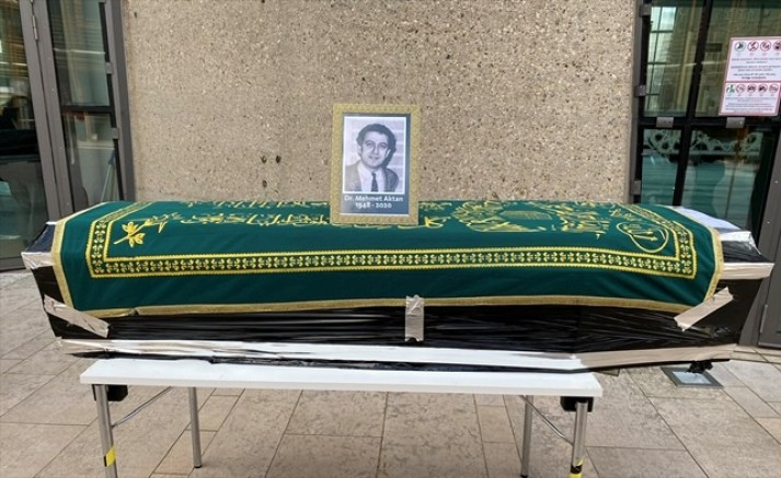 Mehmet Aktan'ın cenazesi Türkiye'ye gönderildi
