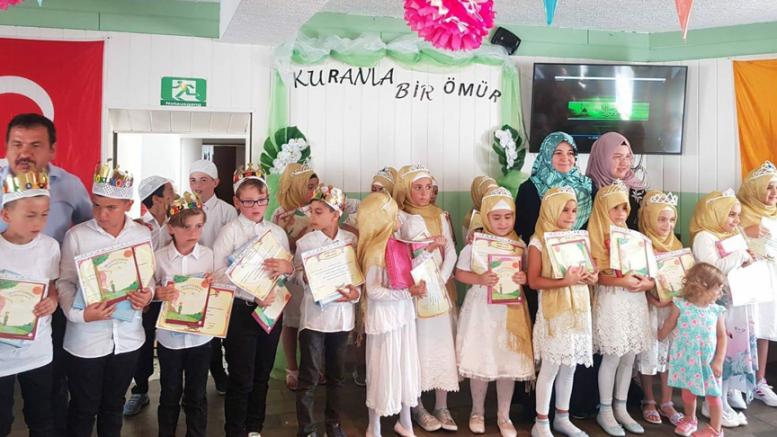 """""""Minik Bülbüllerin"""" Kur'an-ı Kerim coşkusu"""