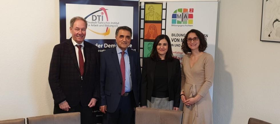 Türk-Alman Enstitüsü T.C. Karlsruhe Başkonsolosu Banu Terzioğlu'nu ağırladı